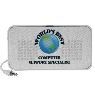 World's Best Computer Support Specialist Portable Speaker