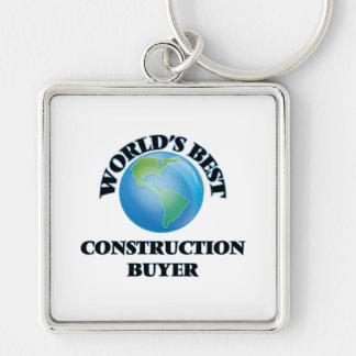World's Best Construction Buyer Key Chains