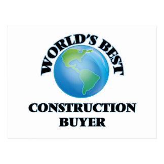 World's Best Construction Buyer Post Card
