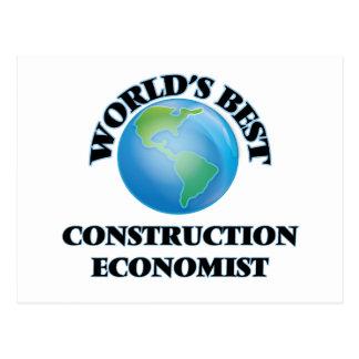 World's Best Construction Economist Post Card