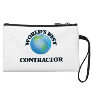 World's Best Contractor Wristlet Purse