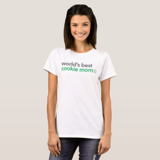 World's Best Cookie Mom T-Shirt