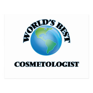 World's Best Cosmetologist Post Cards