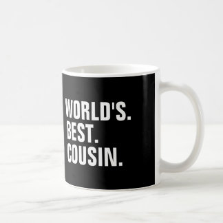 World's best cousin coffee mugs