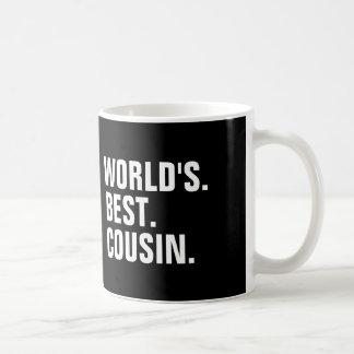 World's best cousin coffee mugs