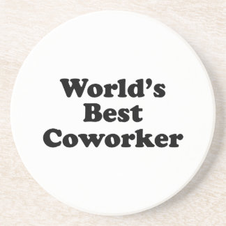 World's Best Coworker Drink Coasters