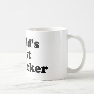 World's Best Coworker Basic White Mug