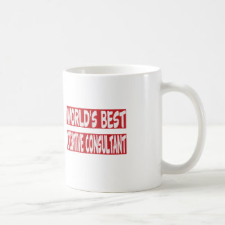 World's Best Creative consultant. Coffee Mugs