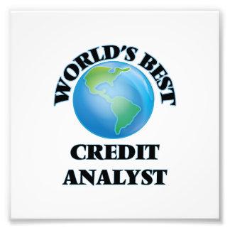 World's Best Credit Analyst Photo