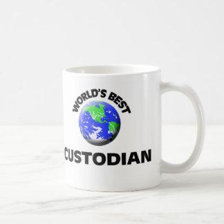 World's Best Custodian Coffee Mug