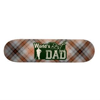 World's Best Dad; Baseball Skate Board