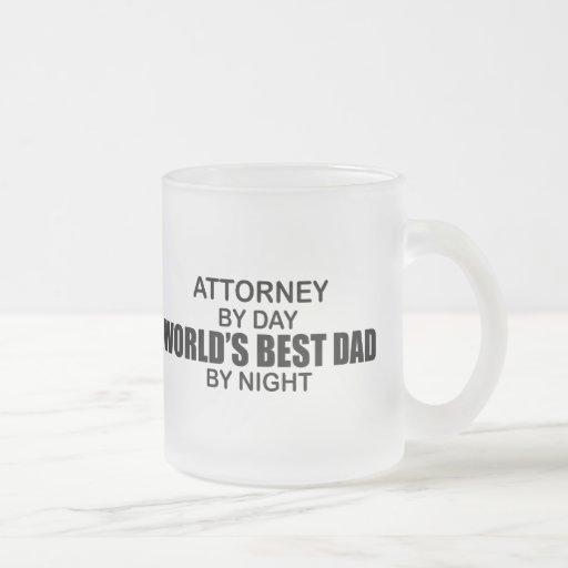 World's Best Dad by Night - Attorney Coffee Mug