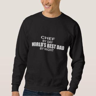 World's Best Dad by Night - Chef Sweatshirt