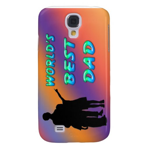 World's Best Dad  Samsung Galaxy S4 Cover