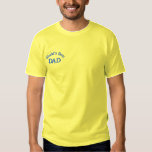 World's Best Dad Embroidered T-Shirt