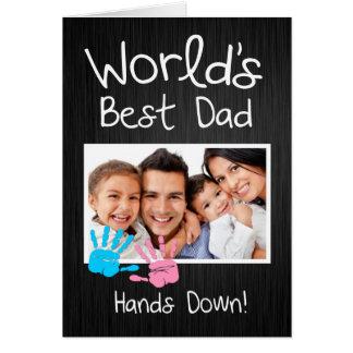 World's Best Dad, Hands down! Card