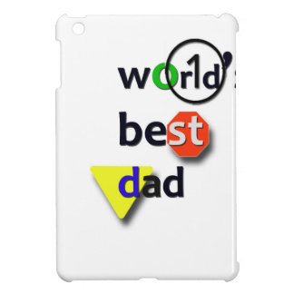 WORLDS BEST DAD iPad MINI CASES