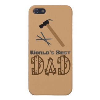 World's Best Dad iPhone Case 5/5C/5S/4 iPhone 5 Case