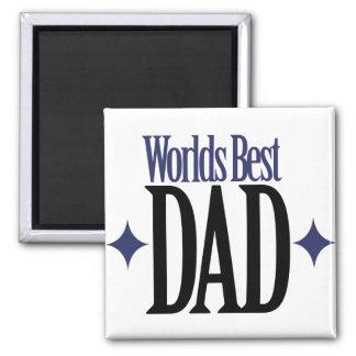 Worlds Best Dad Magnet