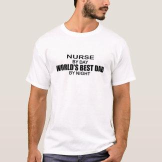 World's Best Dad - Nurse T-Shirt