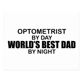 World's Best Dad - Optometrist Postcard