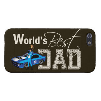World's Best Dad; Racing iPhone 5/5S Cases