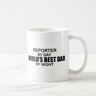 World's Best Dad - Reporter Coffee Mug
