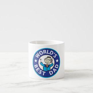 Worlds Best Dad Espresso Cups
