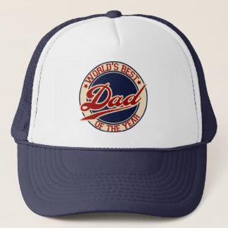 World's Best Dad Trucker Hat