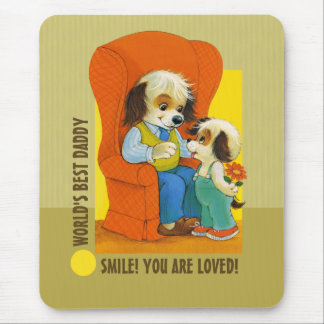 World's Best Daddy. Father's Day Gift Mouse Pads