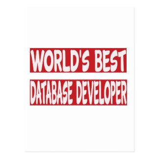 World's Best Database developer. Postcards