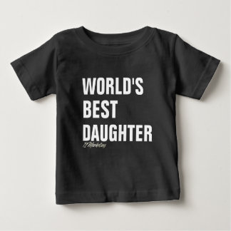World's Best Daughter Shirt Girls Daddy & Me Mommy