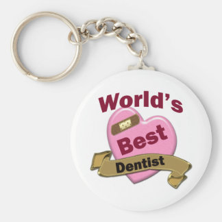 World's Best Dentist Key Ring