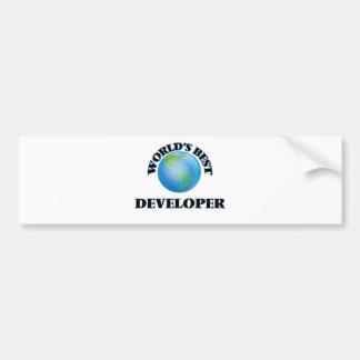 World's Best Developer Bumper Stickers