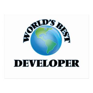 World's Best Developer Post Card