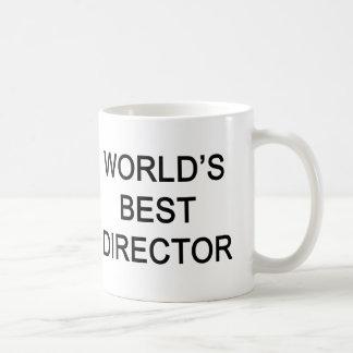 WORLD'S BEST DIRECTOR BASIC WHITE MUG
