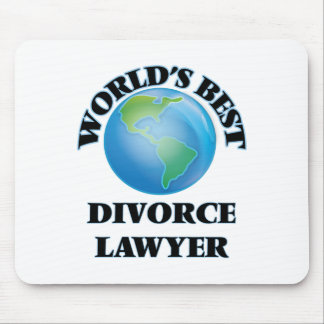 World's Best Divorce Lawyer Mouse Pads