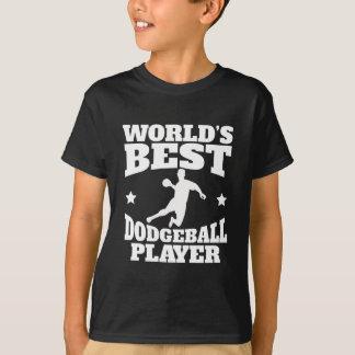 Worlds Best Dodgeball Player T-Shirt