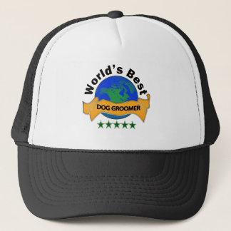 World's Best Dog Groomer Trucker Hat