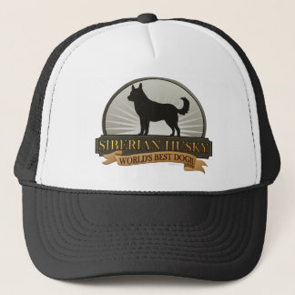 World's Best Dog [Siberian Husky] Trucker Hat