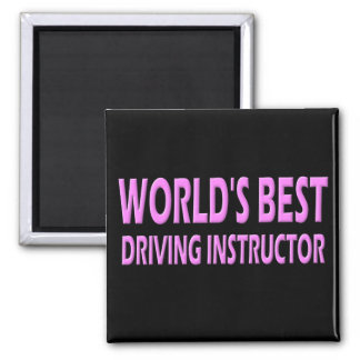 World's Best Driving Instructor Magnet