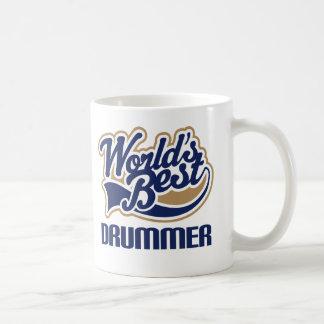 Worlds Best Drummer Gift Idea Coffee Mug