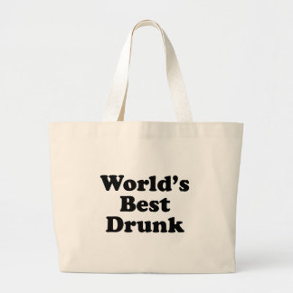 World's Best Drunk Tote Bags