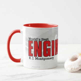 World's Best Electrical Engineer with Diagram Mug