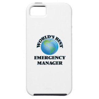 World's Best Emergency Manager iPhone 5 Case