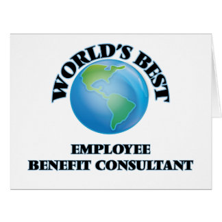 World's Best Employee Benefit Consultant Cards