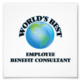 World's Best Employee Benefit Consultant Photo