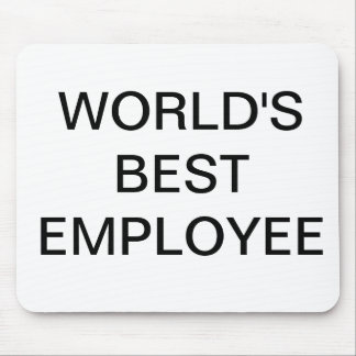 World's Best Employee Mouse Pad