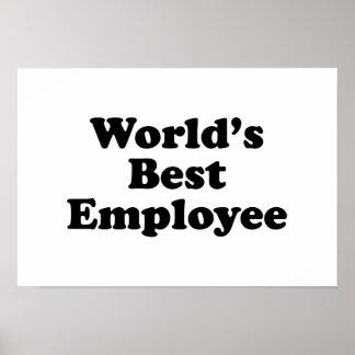 World's Best Employee Poster