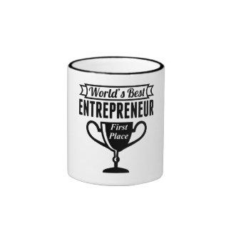 World's Best Entrepreneur Ringer Mug